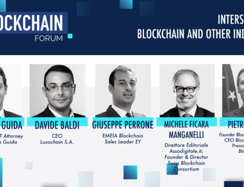 Gianluigi Guida at the Blockchain Italia Forum 2020