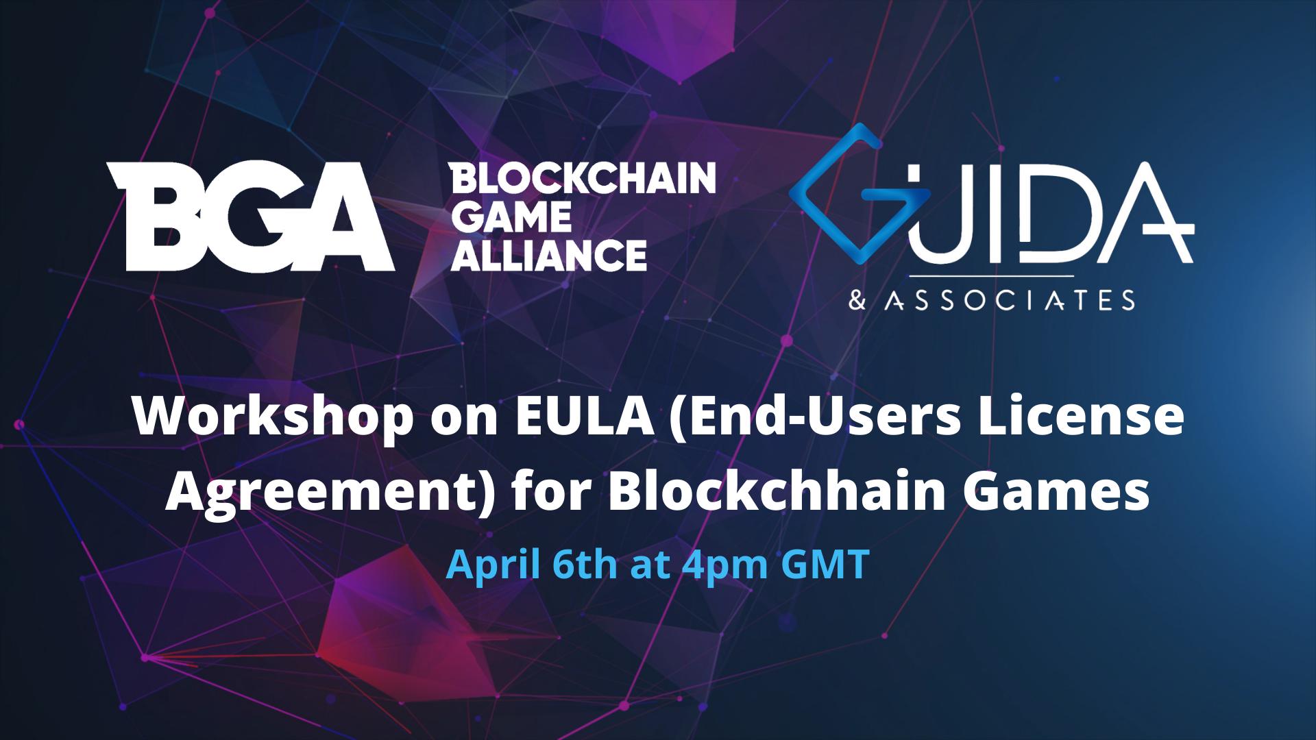 Workshop sugli EULA per videogiochi basati su Blockchain
