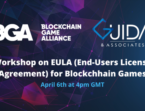Workshop on EULA for Blockchain Games