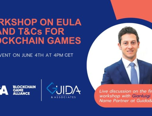 Tomorrow Gianluigi Guida will be speaker at this workshop on EULA and T&Cs